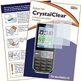 "2 x mumbi Displayschutzfolie Nokia C5 C5-00 Displayschutz ""CrystalClear"" unsichtbar"