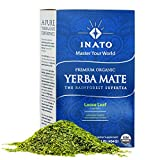PREMIUM Organic Yerba Mate | Green | Loose Leaf |Rainforest Grown | South American Traditional Green Tea Drink | Air Dried | Provides a Clean Energy Boost | Aids Digestion & Weight loss (16 Onces) (Color: Green, Tamaño: 16 Onces)