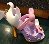 Disney Parks Daisy Duck Shoe Figurine Ornament NEW