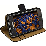 mumbi Tasche Samsung i9001 Galaxy S PLUS / Samsung i9000 Galaxy S Hülle Case im Bookstyle