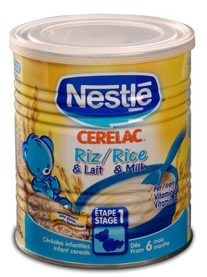 Nestle Cerelac Rice 400g (Europe)