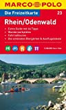 MARCO POLO Freizeitkarte Rhein/Odenwald 1:100.000 (MARCO POLO Freizeitkarten)
