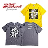 PUNK DRUNKERS パンクドランカーズ 攻撃TEE M CHARCOAL
