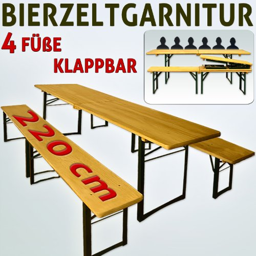 bierzeltgarnitur biertisch garnitur sitzgruppe klappbar. Black Bedroom Furniture Sets. Home Design Ideas