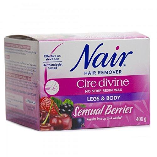 nair-cire-divine-microwaveable-body-hair-removal-wax-kit-sensual-berries-400g-14oz