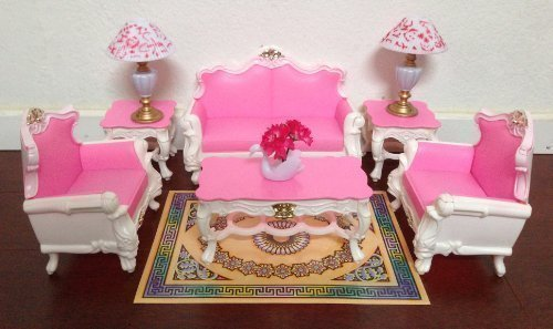 barbie zimmer barbie preisvergleiche. Black Bedroom Furniture Sets. Home Design Ideas