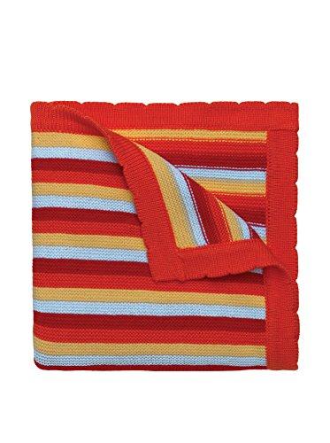 Elegant Baby Ducky Stripe Blanket, Multi - 1