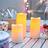 Set-of-3-Outdoor-Battery-Operated-LED-Flameless-Candles-with-6-Hour-Timer