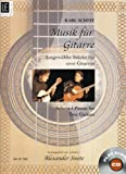 img - for Music for Guitar: Selected Pieces for Two Guitars (Book & Play-along CD) book / textbook / text book