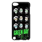 Music Band Green Day iPod touch 5th Case Covers Rock Band Billie Joe Armstrong Mike Dirnt Tre Cool Jason White Red/Green iPod 5 Case