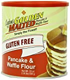 Carbons Golden Malted Pancake & Waffle Flour Mix, Gluten-Free, 33-Ounce Can
