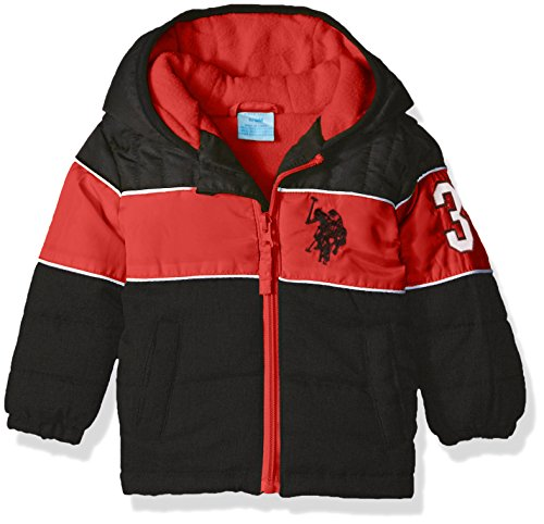 us-polo-assn-baby-boys-heavyweight-bubble-jacket-black-red-24-months