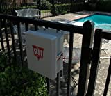 Emergency Pool Phone - 911 Only Cellphone with Weatherproof Outdoor Enclosure Phone Box Cabinet