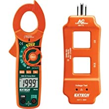 Extech Instruments Clamp Meter with Nist