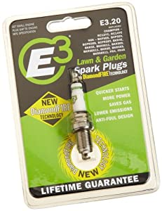 E3 Spark Plugs E3.20 Small Engine and Lawn & Garden Spark Plug , Pack of 1 from E3 Spark Plugs
