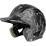 Under Armour UA Digital Camo Batting Helmet One Size Fits All Black