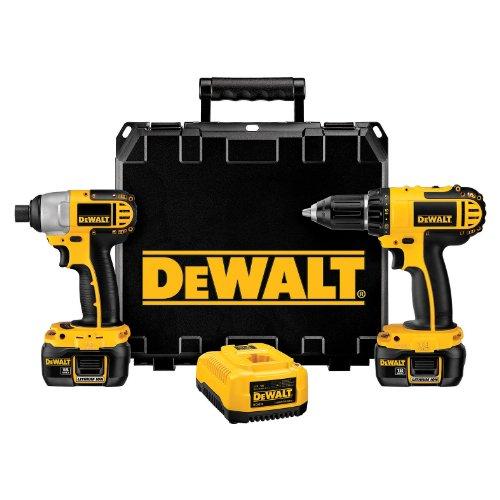 DeWalt DCK265L  18-Volt Compact Lithium-Ion Drill/Impact Combo Kit