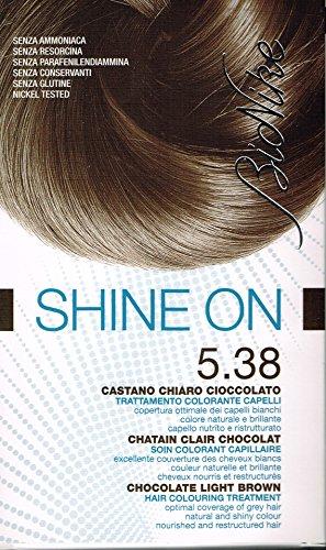 BioNike Shine On Trattamento Colorante Capelli Castano Ambra 5.38