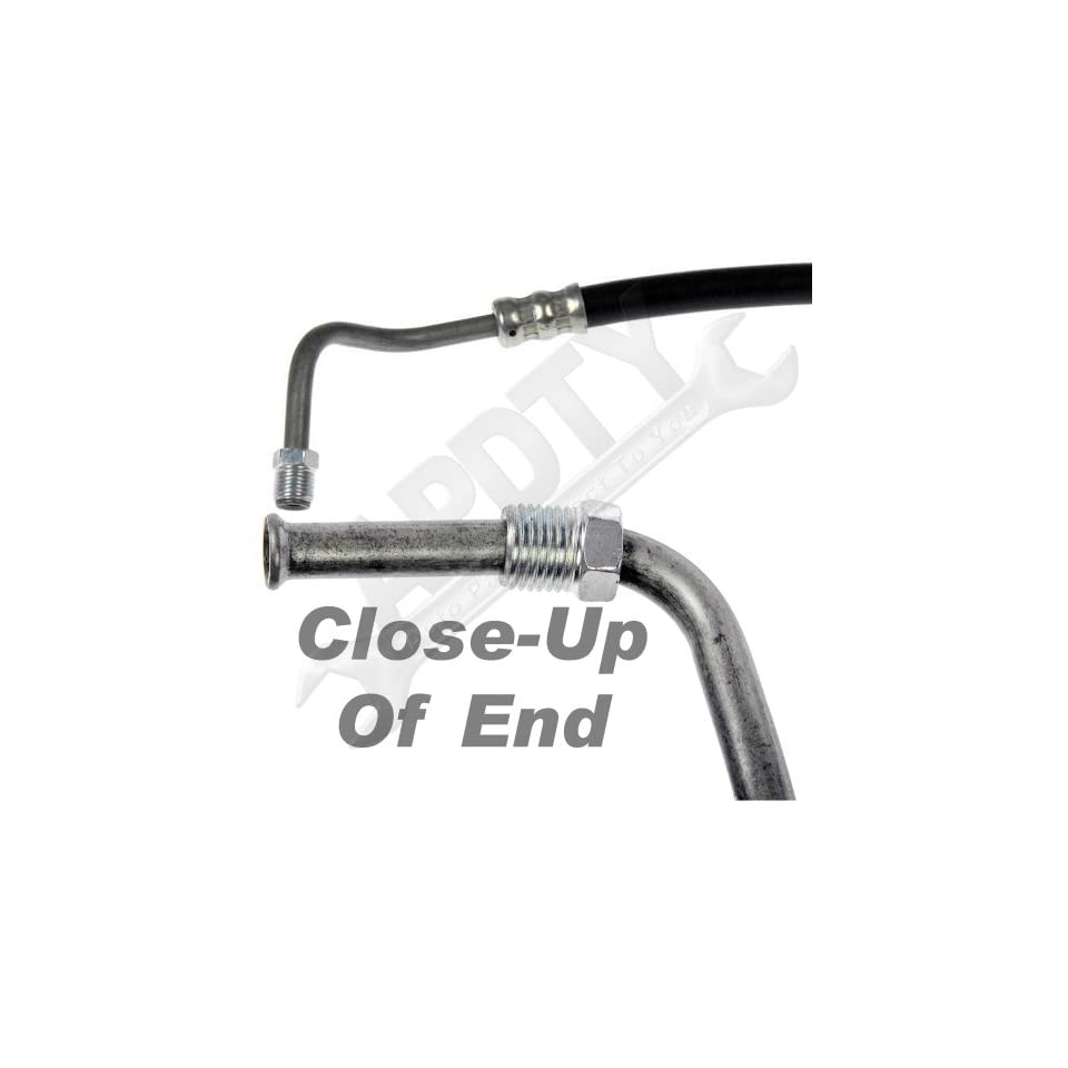 APDTY 735148 Transmission Oil Cooler Line(Fits 1993 2002 Chevy Camaro, 1993 2002 Pontiac Firebird)For V6 231 3.8L (3800cc), and V8 350 5.7L,Upper Position from Radiator to Transmission,Replaces OEM Part Number(s) 10430945 Automotive