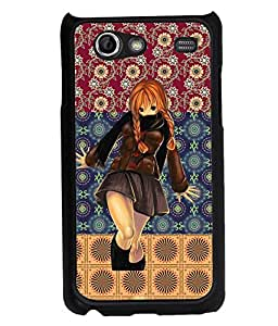 Fuson 2D Printed Girly Designer back case cover for Samsung Galaxy S Advance I9070 - D4128