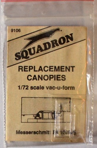 Squadron Products Messerschmitt Bf 109B/E Vacuform Canopy - 1