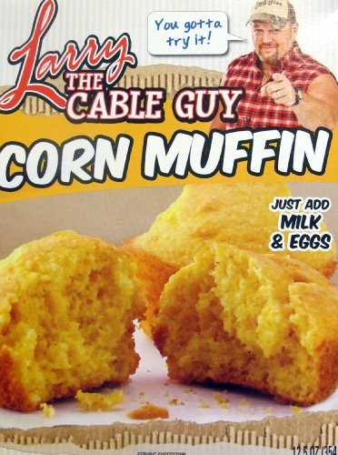 Larry The Cable Guy Corn Muffin Mix 12.5 Oz. Box....You Gotta Try It! Git-R-Done front-185199