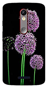TrilMil Printed Designer Mobile Case Back Cover For Motorola Moto X Force