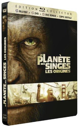 La Planète Des Singes : Les Origines – Blu-ray Collector boîtier métal