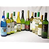セレクションワイン12本セット ( 白ワイン 10本)+優雅でエレガントなスパークリングワイン 2本(フランス・イタリア泡・白)750ml×12本
