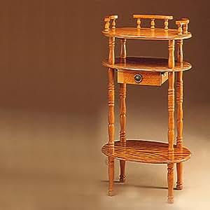 Oak Telephone Stand - Coaster 4319