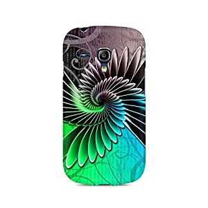 Mobicture Floral Pattern Premium Printed Case For Samsung S3 Mini 8190