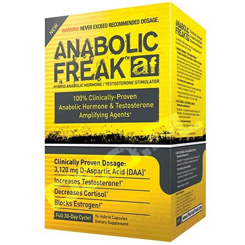 Pharmafreak Anabolic Freak 96 Kapseln Test Booster