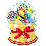 ご出産のお祝いにポップで楽しいオムツケーキ 《マイ リトル パル》 ランキングお取り寄せ