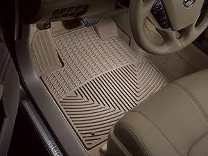 2009-2014 Nissan Murano Tan WeatherTech Floor Mat (Full Set; Standard Model)