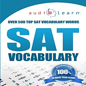 2012 SAT Vocabulary Audio Learn | [AudioLearn Editors]