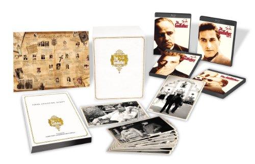 ゴッドファーザー 製作40周年記念 ブルーレイ・コレクターズ・エディション【期間限定】 [Blu-ray]