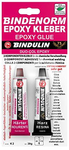 Due componente colla BINDULIN Duo rl-col ® 2tubetti da 20g