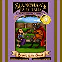 Slangman's Fairy Tales: Japanese to English, Level 3 - Beauty and the Beast Audiobook by David Burke Narrated by David Burke