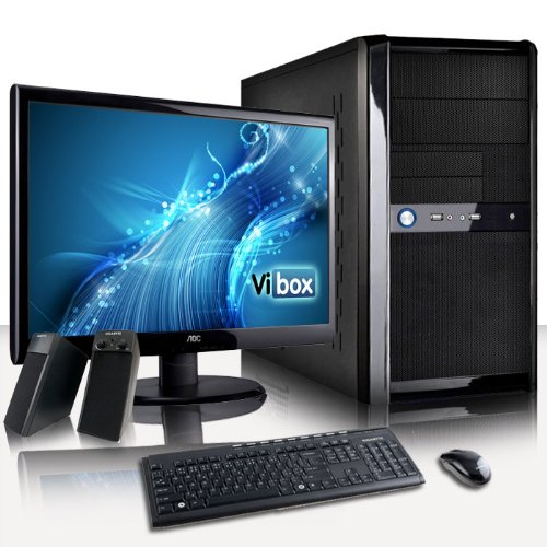 VIBOX Work Mate Package 15 - Home, Office, Family, Desktop PC, USB3.0 Computer, Full Package with 22