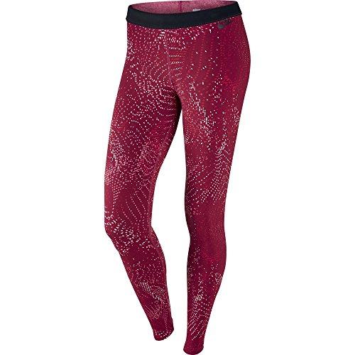 Nike Leg-A-See Print Jersey Women's Sportswear Legging Red 804049-620 (Size M)