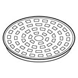 Presto 44199 stainless steel percolator basket lid.