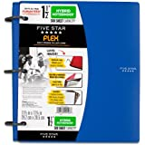 Five Star Flex Hybrid NoteBinder, 1.5-Inch Capacity, 11.5 x 11.25 Inches, Blue (72405)