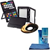 X-Rite Color/White Balance/Gray Card Checker Passport with Calibration & Capture Software with Cleaning Kit