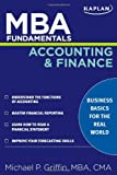 img - for MBA Fundamentals Accounting and Finance (Kaplan Test Prep) book / textbook / text book