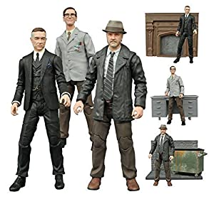 Diamond Select Gotham TV Series Alfred Pennyworth, Edward Nygma, Harvey Bullock Action Figures Set of 3 at Gotham City Store