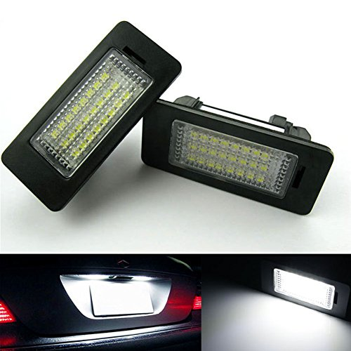 inlink-2pcs-error-free-led-license-plate-light-lamps-24-smd-e93-led-replacement-bulbs-for-bmw-e90-e9
