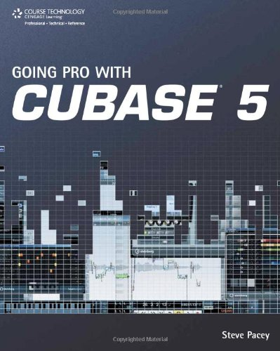 Going Pro with Cubase 5 (Book)
