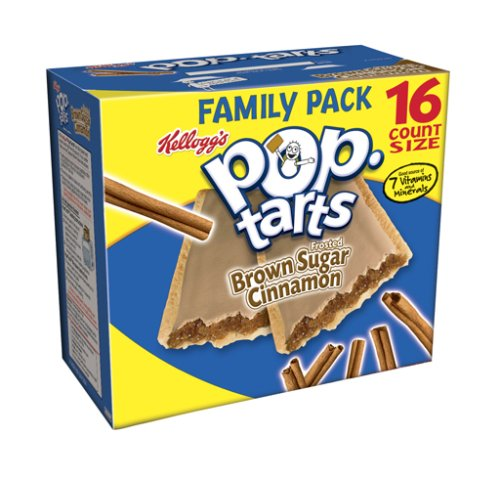 Buy Kellogg's Pop-Tarts Frosted Cinnamon, 28.2-Ounce, 16-Count Boxes (Pack of 8) (Pop-Tarts, Health & Personal Care, Products, Food & Snacks, Breakfast Foods, Toaster Pastries)