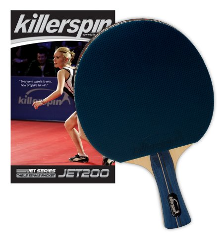 Read About Killerspin 110-02 Jet 200 Table Tennis Racket