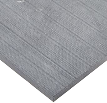 Alumina Silicate Ceramic Sheet, Opaque Gray, Inch